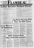 Florida State Flambeau, October 16, 1968