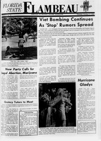 Florida State Flambeau, October 17, 1968