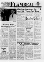Florida State Flambeau, October 25, 1968