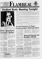 Florida State Flambeau, October 02, 1968