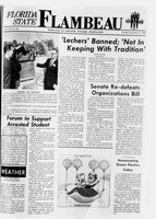 Florida State Flambeau, November 21, 1968