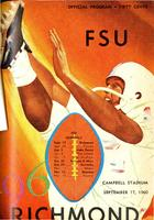 FSU vs. Richmond (9/17/60)