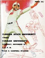 FSU vs. Furman University (11/10/56)