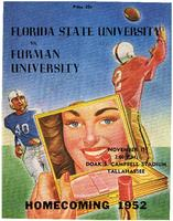 FSU vs. Furman University (11/15/52)