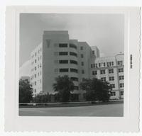Side of Jacksonville Memorial Hospital building