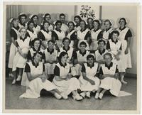 Nursing class of 1957 at Jackson Memorial Hospital