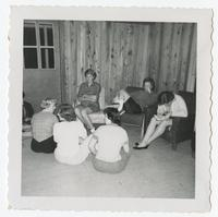 Students seated on chairs and floor at FSU Reservation