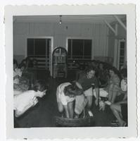 Group of students playing game at FSU Reservation