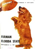 FSU vs. Furman (9/21/57)