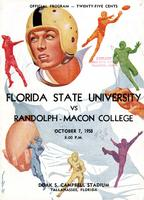 FSU vs. Randolph-Macon College (10/7/50)