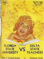 FSU vs. Delta State Teachers College (10/13/51)