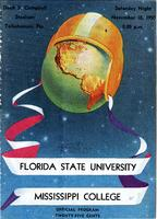 FSU vs. Mississippi College (11/18/50)