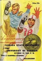 FSU vs. University of Georgia (10/15/55)