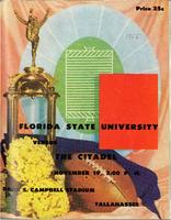 FSU vs. The Citadel (11/19/55)