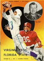 FSU vs. Virginia Tech (10/26/57)