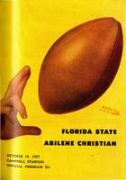 FSU vs. Abilene Christian (10/19/57)