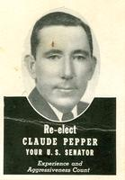 Claude Pepper campaign card