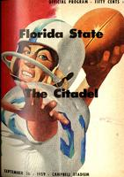 FSU vs. The Citadel (9/26/59)