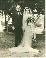 Bill Moshier and Katie Webster Moshier wedding portrait