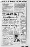 Flambeau, April 21, 1970