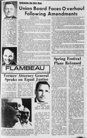 Flambeau, April 28, 1970