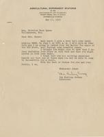 Letter to Mrs. Nicholas Ware Eppes regarding the radio review of her works