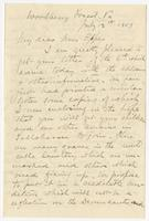 "Letter addressed to ""My dear Mrs. Eppes"""
