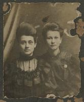 Left: Alice Bradford Eppes, Right: Elizabeth Cleland Eppes