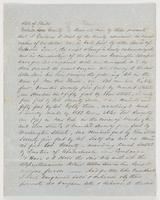 April 4, 1853 deed for land in New Port, Florida in Wakulla County