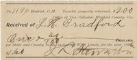 1902 Tax Receipt