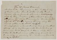 April 5, 1850 deed for land in New Port, Florida in Wakulla County