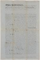 January 17, 1855 deed for land in New Port, Florida in Wakulla County