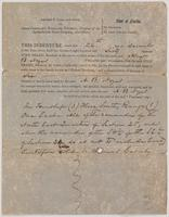 December 24, 1860 deed for land in New Port, Florida in Wakulla County