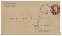 1908 letter from Nath Brewer Jr. to Edward Eppes