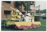 School of Nursing Homecoming Parade Float Front, 1999