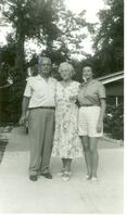 Bascom and Kay Webster with Irene Webster
