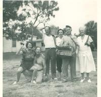 Bascom and Kay Webster with family members