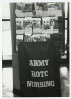 College of Nursing ROTC Army banner