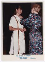 April 1990 Pinning Ceremony