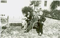 Bascom and Kay Webster with two sons