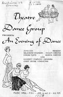 "Program for ""An Evening of Dance"" (1953)"