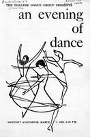 "Program for ""An Evening of Dance"" (1955)"