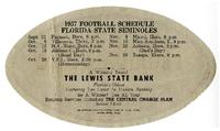 1957 Seminoles football schedule