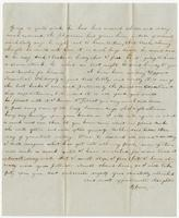 Letter from Rebecca to Doctor Edward Bradford