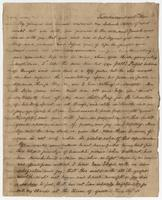 Letter from Francis Eppes to Miss Jane G. Eppes