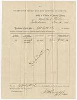 Collection Permit for the Removal of Cotton