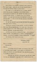 """""""The Real Reason For the Assassination of Abraham Lincoln"""" with introductory note from editor"""