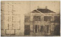Blueprints for plantation house