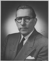 Autographed portrait of Claude Pepper