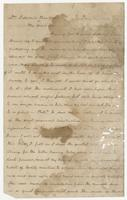 Letter to Dr. Edward Bradford from Francis Eppes